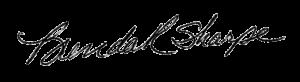 brenda sharpe signature